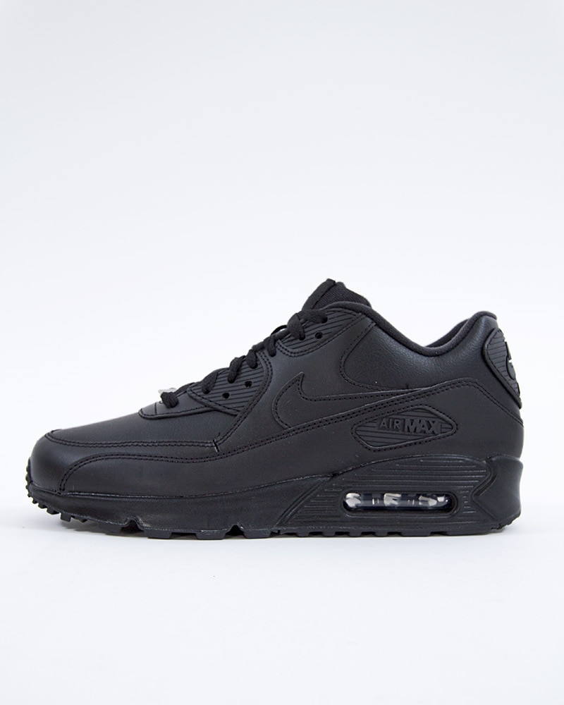 newest collection c4dc9 06f63 Nike Air Max 90 Leather   302519-001   Black   Sneakers   Skor   Footish