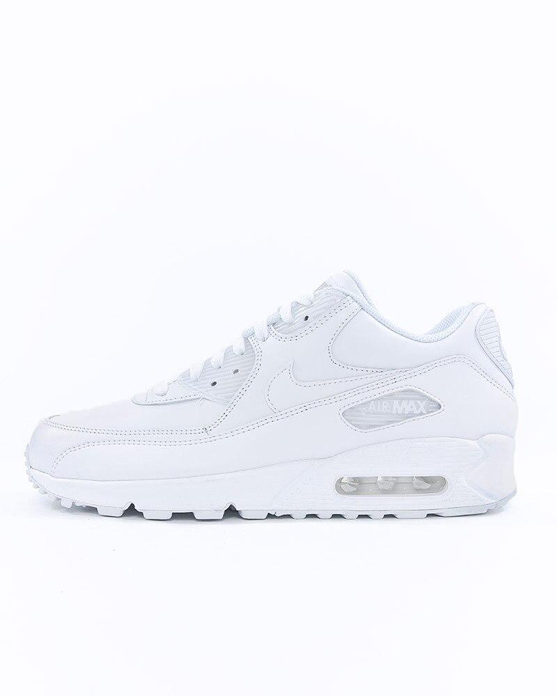 quite nice c9794 54dbe Nike Air Max 90 Leather   302519-113   Vit   Sneakers   Skor   Footish