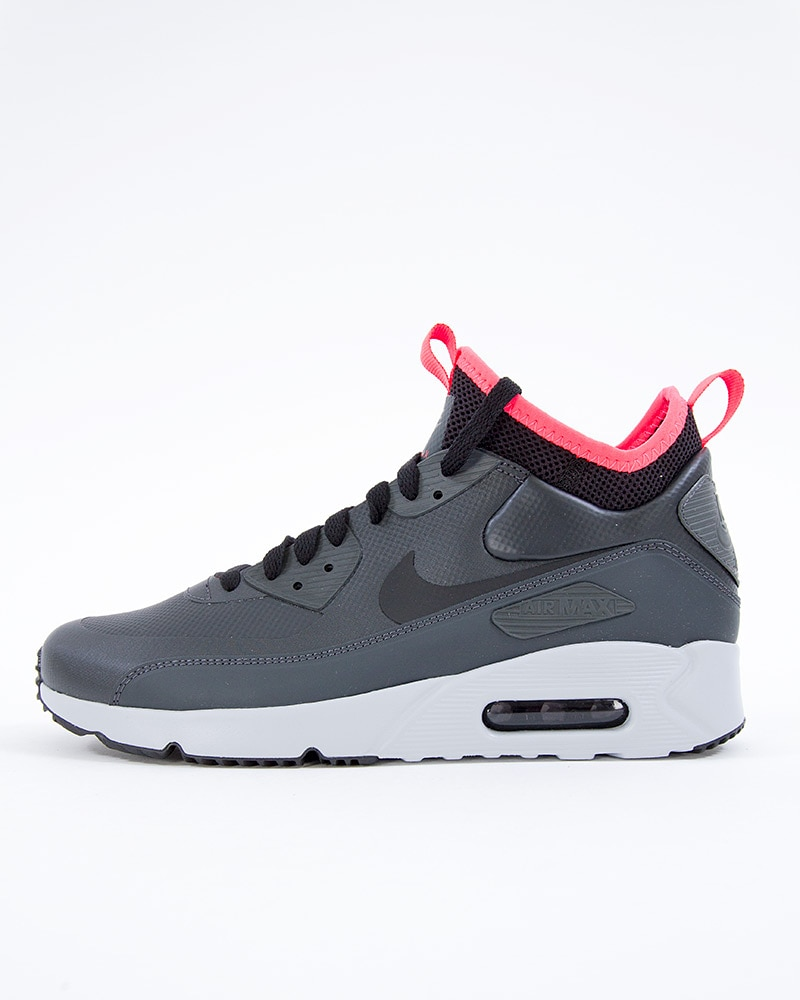 7a646d01bd5 Nike Air Max 90 Ultra Mid Winter | 924458-003 | Black | Sneakers ...
