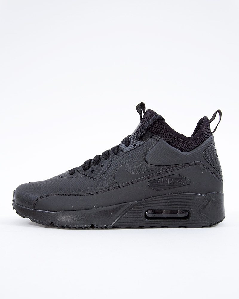 official photos ae389 08c99 Nike Air Max 90 Ultra Mid Winter | 924458-004 | Black | Sneakers ...