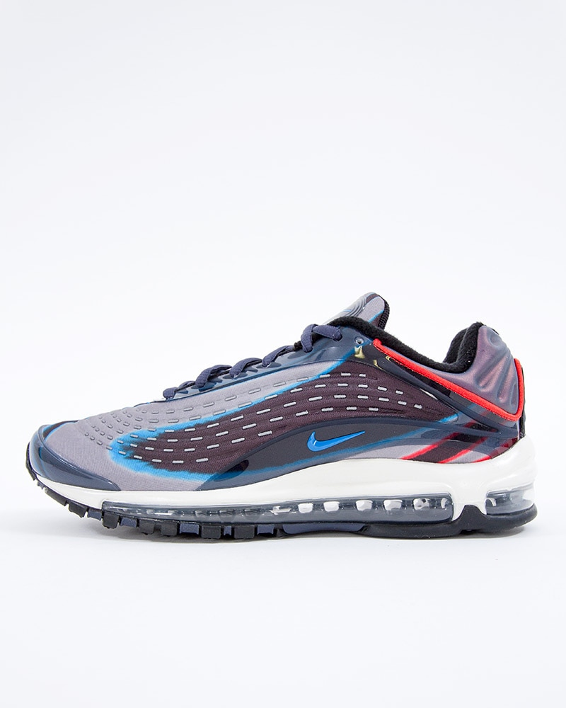 Nike Air Max Deluxe thunder blue photo blue wolf grey black