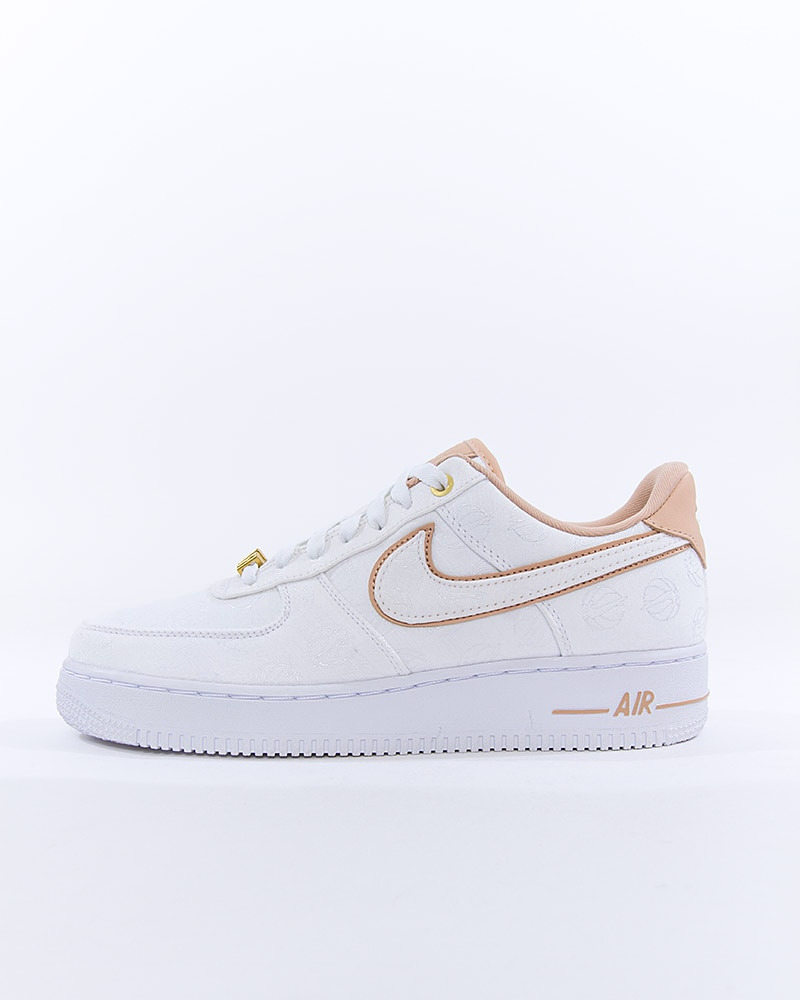 nike air force 1 low 07 lux white gold beige