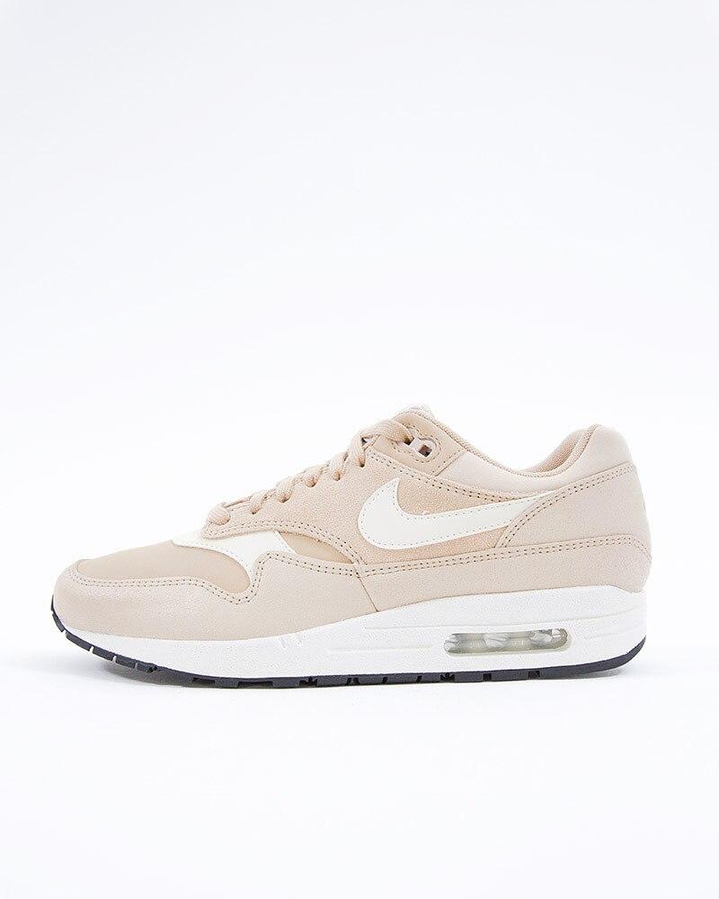 buy popular 52229 ab6bd Nike Wmns Air Max 1 Premium   454746-209   Brown   Sneakers   Skor ...